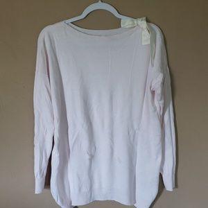 Lauren Conrad pink sweater
